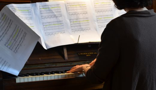 berkarir menjadi pianis