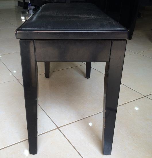 Bangku Upright Piano gambar 3