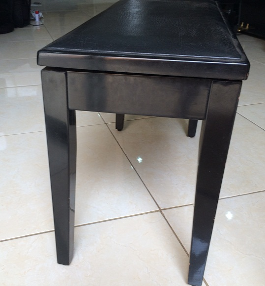 Bangku Upright Piano gambar 2