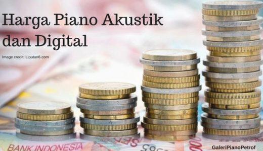 harga piano real dengan teknologi digital